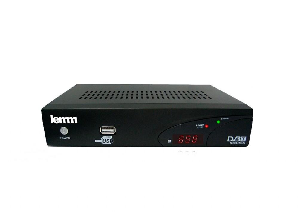 Δέκτης επίγειας ψηφιακής τηλεόρασης Lemm SD 555 από το Getitnow.gr